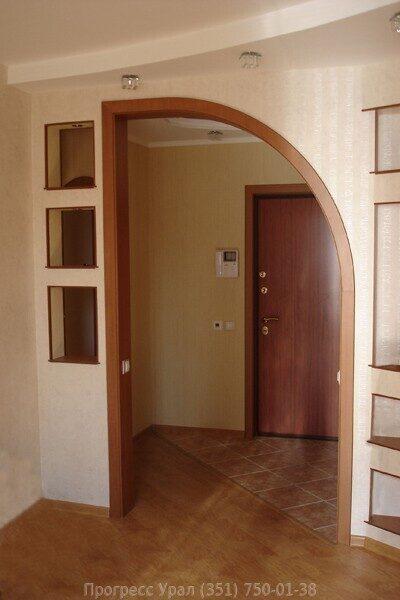 дизайн дверных арок с фото